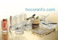 ihocon: Crystal Clear Alexandria 25-Piece Mixed Taster Set