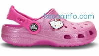 ihocon: Crocs Hello Kitty® Glitter Girls Clog