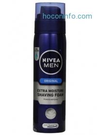 ihocon: Nivea Men Extra Moisture Shaving Foam, 8.7 Ounce (Pack of 3)