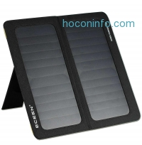 ihocon: ECEEN 13W Solar Charger Foldable Portable Solar Panel With Dual USB Output Charge
