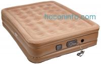 ihocon: Insta-Bed Raised Air Mattress with Never Flat Pump