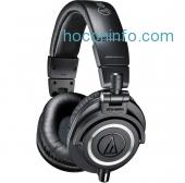 ihocon: Audio-Technica ATH-M50x 專業錄音室耳機 Professional Studio Monitor Headphones