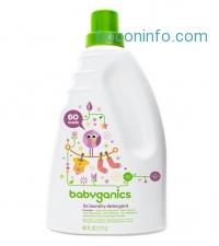ihocon: Babyganics 3X 嬰兒洗衣精 Baby Laundry Detergent, Lavender, 60 Fluid Ounce