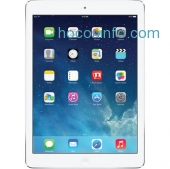 ihocon: Apple 128GB iPad Air (Wi-Fi + 4G LTE, Silver), MF563LL/A