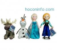 ihocon: Disney Frozen Talking Plush Collectible Set