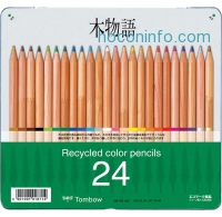 ihocon: Tombow Recycled Colored Pencils, Assorted Colors, 24-Pack