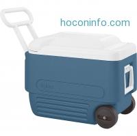 ihocon: Igloo 40 Quart Wheeled Maxcold Cooler
