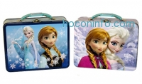 ihocon: 7-Piece Frozen Tin Lunchbox with 6-Piece Accessory Set