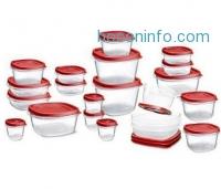 ihocon: Rubbermaid 42-Piece Easy Find Lid Food Storage Set
