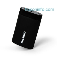 ihocon: UNIFU 10000mAh Dual Input External Battery Power Bank