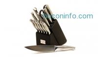 ihocon: Emeril 15-Piece Stainless Steel Hollow-Handle Cutlery Set