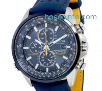 ihocon: Citizen Eco Drive 光動能藍天使飛行表 Blue Angels World Chronograph Mens Watch