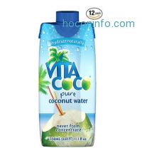 ihocon: Vita Coco 椰子水 Coconut Water, 11.1 oz. (Count of 12)