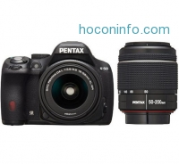 ihocon: Pentax K-50 16MP DSLR Camera w/ 18-55mm & 50-200mm WR Lenses