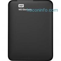 ihocon: WD 750GB 便攜外接式硬碟 Elements Portable Hard Drive