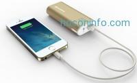 ihocon: Jackery® Bar Premium iPhone Charger External Battery 6000mAh Portable Charger Power Bank