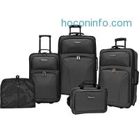 ihocon: Traveler's Choice Versatile 5-Piece Luggage Set - 2色可選