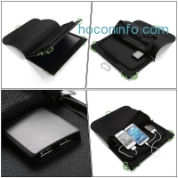 ihocon: Poweradd 14W Dual-Port Foldable Solar Panel Portable Charger