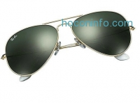 ihocon: Ray-Ban RB3025 Aviator Large Metal Non-Polarized Sunglasses