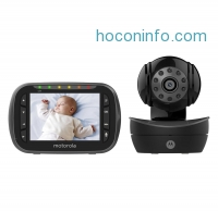 ihocon: Motorola 遠端遙控嬰兒監護器 Remote Wireless Video Baby Monitor with 3.5-Inch Color LCD Screen, Remote Camera Pan, Tilt, and Zoom MBP43