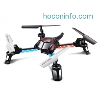 ihocon: Holy Stone UFO RC Quadcopter w/ Camera,3D Flight and 360° Flips in two Modes(Sport & Indoor), 2.4GHz 6-Axis Gyro RC Drone,2G TF Card
