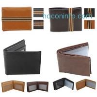 ihocon: Moda Essentials Men's Genuine Leather Wallet Assorted Styles