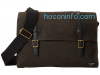 ihocon: Steve Madden Brown/Black Canvas Messenger