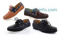 ihocon: Franco Vanucci Men's Boat Shoes