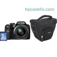 ihocon: Fujifilm FinePix S9250 16.2MP 50x高倍數望遠相機 Digital Camera Bundle