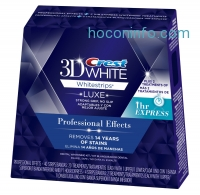 ihocon: Crest 3D White Luxe Whitestrips Professional Effects 20 Treatments + 3D White Whitestrips 1 Hour Express 2 Treatments - Teeth Whitening Kit