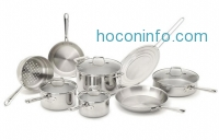 ihocon: All-Clad PRO-CLAD Tri-Ply Stainless Steel 12-Pc Cookware Set