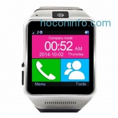 ihocon: Veezy Gear Bluetooth Smart Watch WristWatch Phone Mate For IOS Android