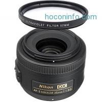 ihocon: Nikon AF-S Nikkor 35mm f/1.8G DX Wide Angle Lens + UV Filter