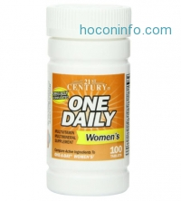 ihocon: 21st Century One Daily Women's Tablets, 100 Count
