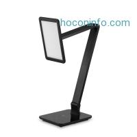 ihocon: TaoTronics® LED Desk Lamp (Large Emitting Panel, Gradual Dimming and Color Temperature Control, Eye-caring, Night Light, USB Charging, Fully Adjustable)