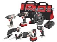 ihocon: PORTER-CABLE PCCK618L6 20V MAX 6-Tool Combo Kit