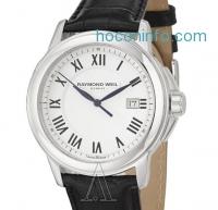 ihocon: Raymond Weil 雷蒙威 日期皮帶男錶 Tradition Men's Watch