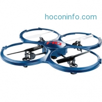 ihocon: UDI RC U818A-1 四軸飛行器+攝像機 Discovery Quadcopter with HD Camera