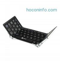 ihocon: iClever IC-BK03 Tri-folding Magnetic Control Bluetooth Keyboard
