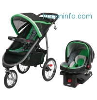 ihocon: Graco FastAction Fold Jogger Click Connect Travel System, Fern