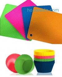 ihocon: Four Silicone Potholder