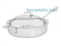 ihocon: All-Clad Stainless Steel 4 Qt. Sauté Pan With Domed Lid