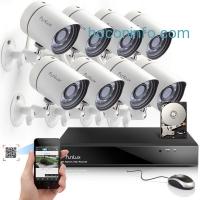 ihocon: Funlux 8CH NVR 720P HD Night Vision IP Surveillance Camera Kit