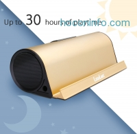 ihocon: LuguLake II 10 Watt 藍芽無線喇叭+行動電源 Wireless Bluetooth 4.0 Speaker + 5000mAh External Battery