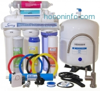 ihocon: iSpring RCC7AK - Newly Upgraded US Legendary 75GPD 6-Stage Reverse Osmosis Water Filter System with Alkaline PH+ Mineral Stage and Brushed Nickel Faucet