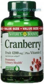 ihocon: Nature's Bounty Cranberry Fruit 4200mg/ Plus Vitamin C, 250 Softgels