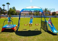ihocon: IronKids Inspiration 250 Fitness Playground Metal Swing Set