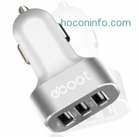 ihocon: eBoot Online has the eBoot 25W 5.1A (2.1A + 2.0A + 1A) 3-Port USB Car Charger