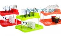 ihocon: Two-Tier Dish Rack Set