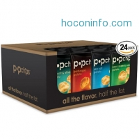 ihocon: Popchips 洋芋片 Potato Chips 4 Flavor Variety Pack, 0.8 Ounce (Pack of 24)